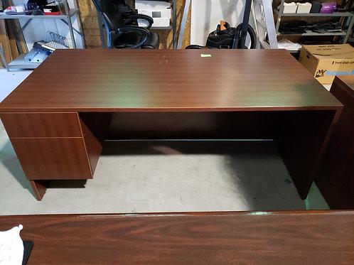 36 x 72 Single Pedestal Desk