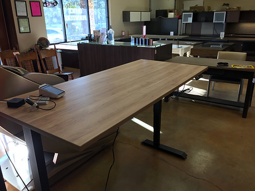 Custom Electric Sit Stand Desk