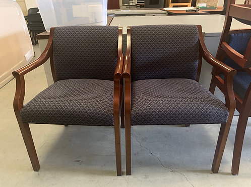 Mahogany Guest Arm-Chairs set