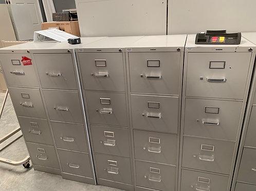 4 Drawer Hon file cabinets