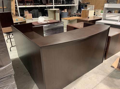 """Espresso """"L"""" Reception Desk"""