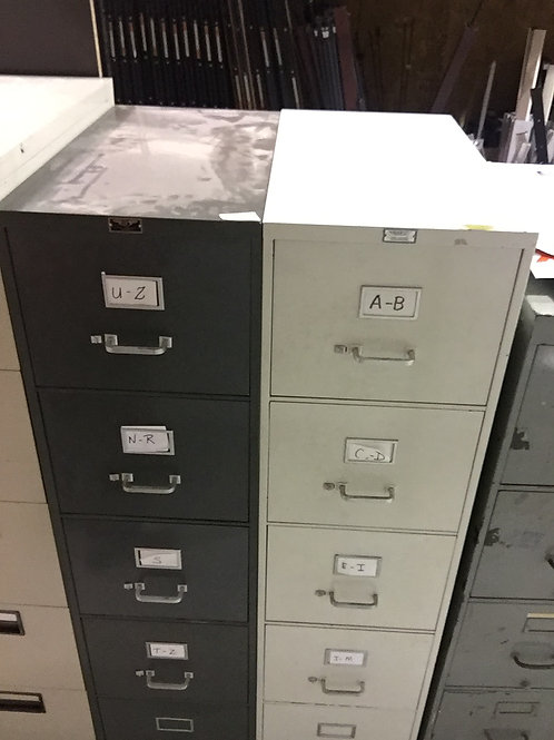 General Fireproofing 5 Drawer file cab.