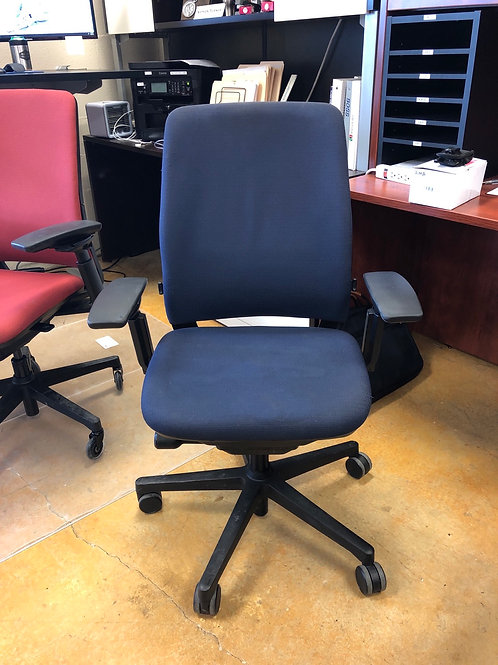 Steelcase chair -Blue