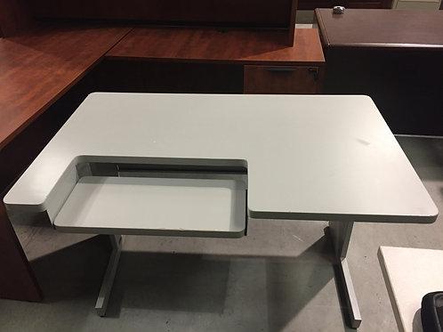Gray Workstation Desk