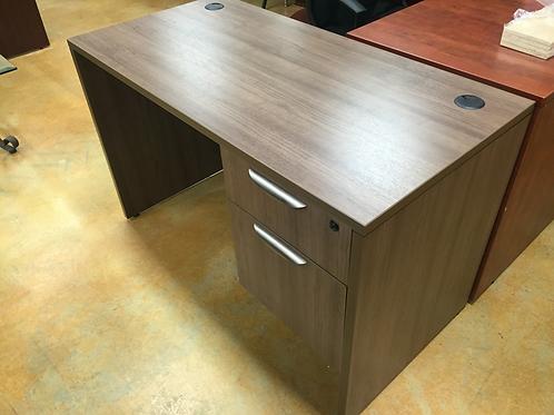 New PL Modern Walnut Desk