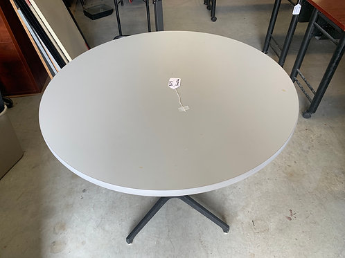 36 inch gray round table