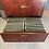 Thumbnail: 4 Drawer Mahogany Latteral File Cabinet