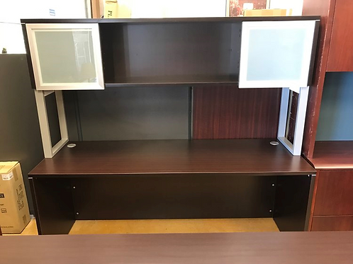 New Credenza With Modern Hutch
