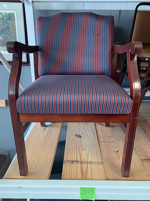 2 Used mahogany guest chairs