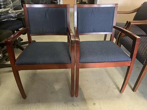 Used Mahogany and Guest Arm-chairs
