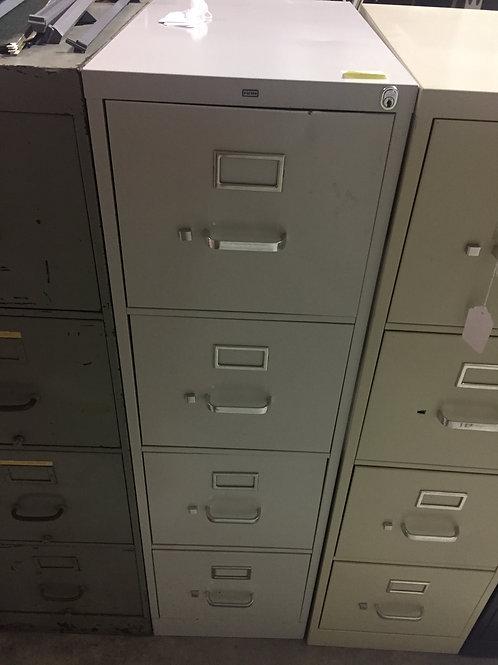 Light Gray 4 Drawer file Cabinet