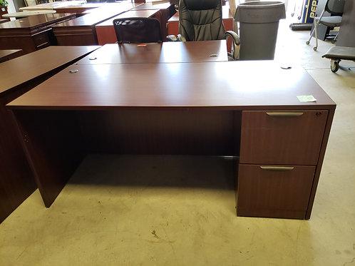30x66 Single Ped Desk