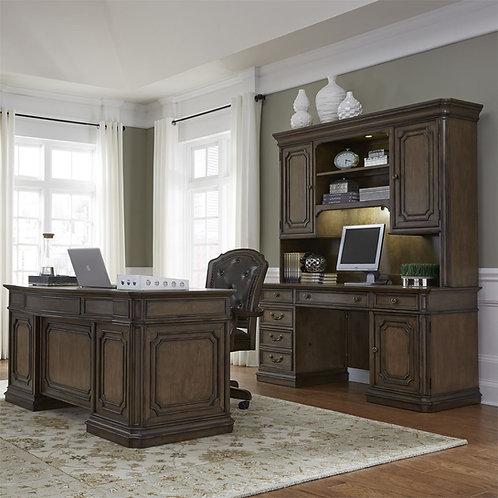 3 Piece Executive Desk Set