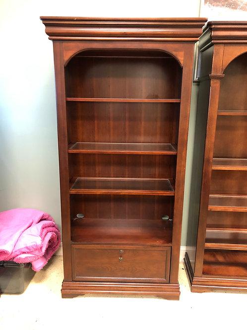 Lateral file bookcase
