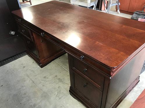 Used Rue De Lyon Desk and Credenza