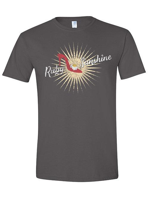 Ruby Sunshine Distressed Logo Tee