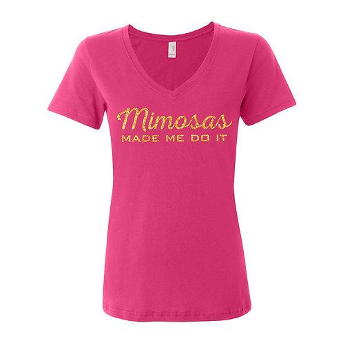 Ruby Sunshine Mimosa Shirt - Glitter