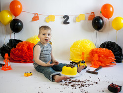 Construction Cake Smash