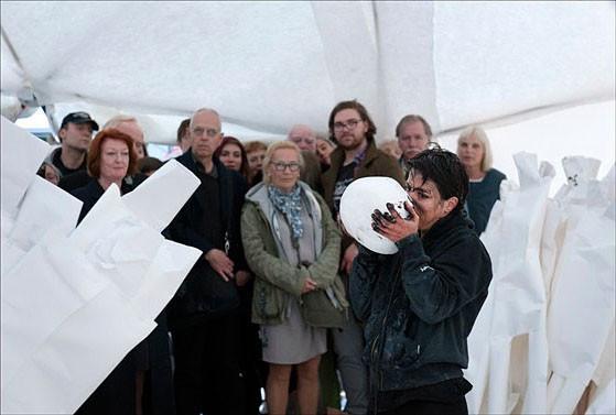 Anastasia Ax Performance PAN THEON i Bucky Dome, 2012