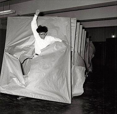 Saburo_Murakami,_Tsuka_(Passage),_1956_©