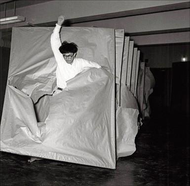 Saburo Murakami, Tsuka (Passage), 1956