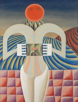 Brauner Victor, La découverte de la conscience, 1956
