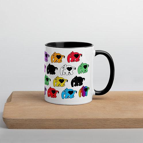 Phants Black and White Mug