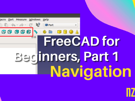An Introduction to 3D Design with FreeCad — Part 1: Navigation