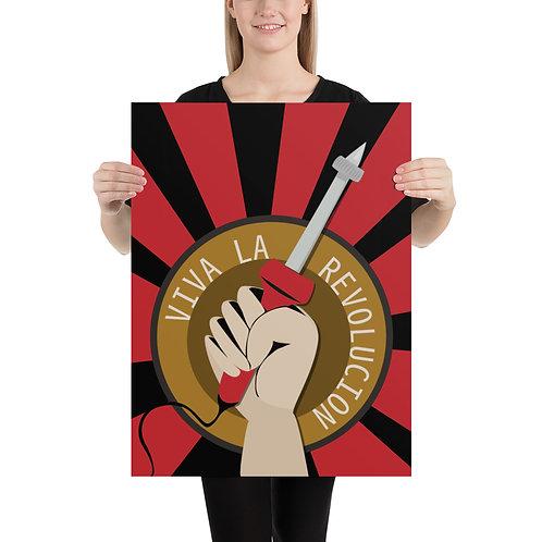 Viva La Revolucion - Printed Poster