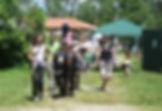 asino felice bambini attività lago raccolta fondi battello lisa mabilia