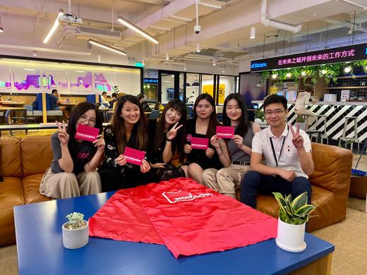 Our Shenzhen hardware outreach team!