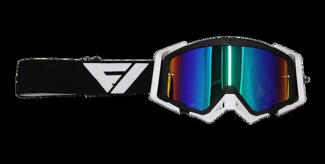 Gafas Motocross Flowvision  BLK/WHT