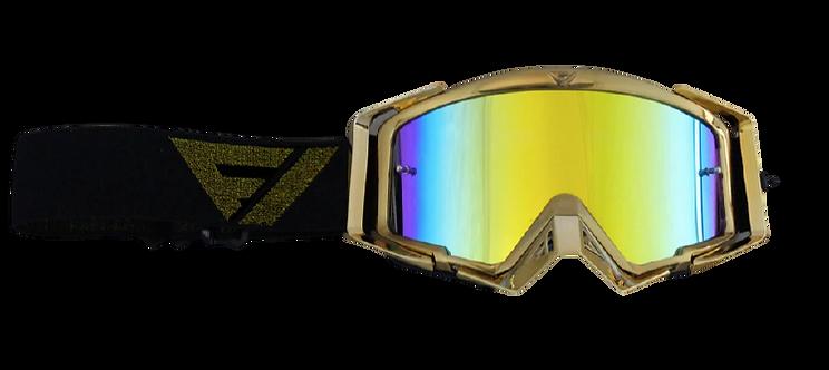 Gafas Motocross Flowvision Gold Edition