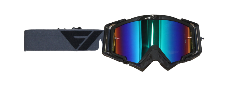Gafas Motocross FlowVision GREY/BLACK