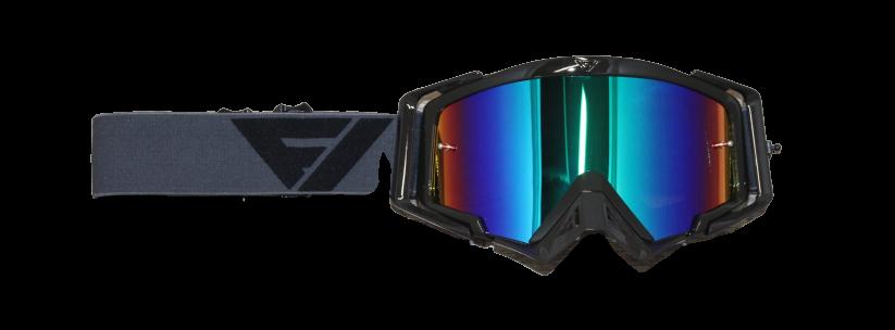Rythem Motocross Goggles GREY/BLACK