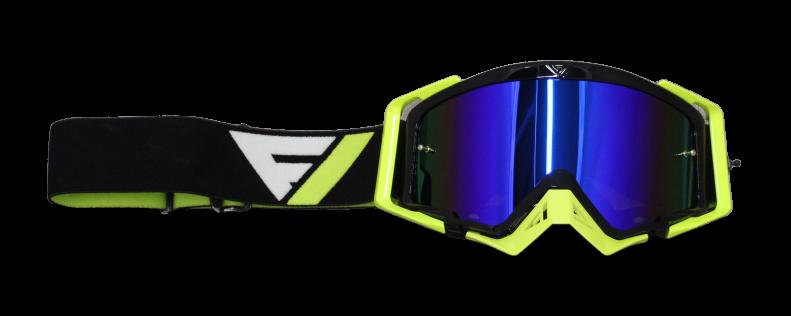 Gafas motocross Flowvision BLK/FLO