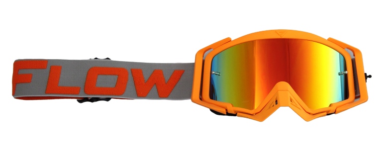 Gafas Motocross FlowvVision ORANGE/GREY