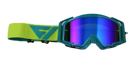 Rythem Motocross Goggles SEA/ACID