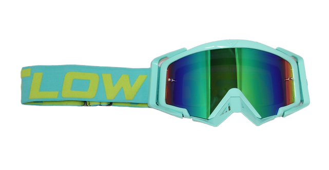 Rythem Motocross Goggles TIFFANY/ACID
