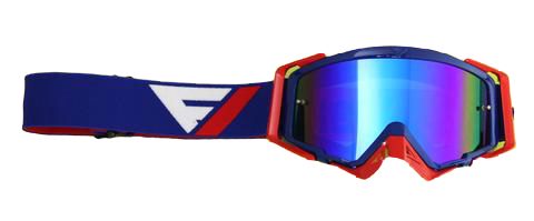 Gafas Motocross Flowvision Goggles BLUE/RED
