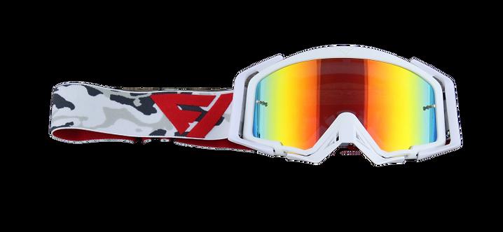 Rythem Motocross Goggles WHITEOUT CAMO