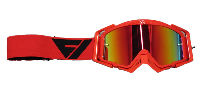 Rythem Motocross Goggles RED/BLACK
