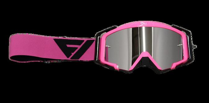 Rythem Motocross Goggles PINK/BLACK