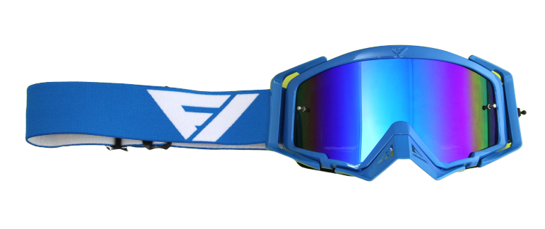 Gafas Motocross Flowvision BLUE/WHITE