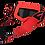 Thumbnail: Gafas motocross flowvision Red/Black