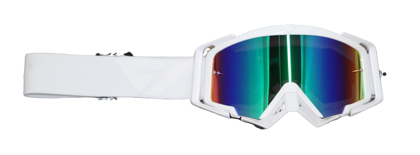 Rythem Motocross Goggles WHITEOUT