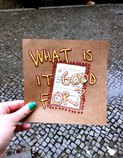 What is it good for?