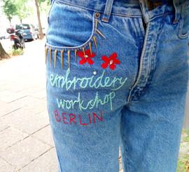 Embroidery workshop Berlin