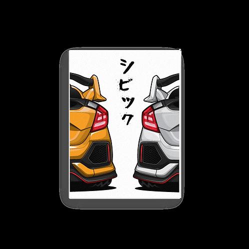 Honda civic Type R (H-BACKVIEW)
