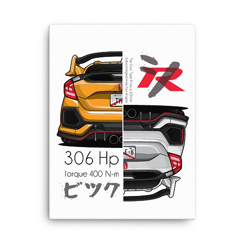 Honda civic Type R (306HP)